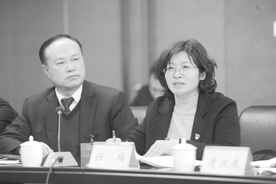 福山区人大代表分组审议政府工作报告